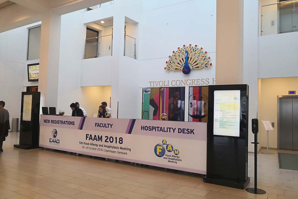 5th Food Allergy and Anaphylaxis Meeting (FAAM) / Registration Area